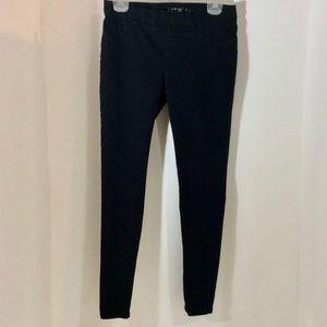 Apt. 9 Pull On Skinny Jeans Small Black